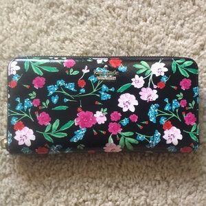 KATE SPADE floral wallet